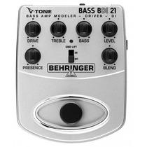 Pedal Behringer V-tone Bdi 21 / Bdi-21 Para Baixo