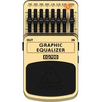 Pedal Behringer Equalizador Gráfico Eq700