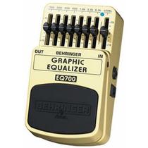Eq700 Pedal Equalizador Behringer Eq 700 Grafic Equalizer