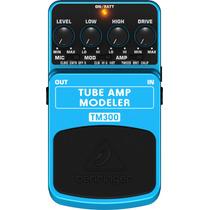 Pedal Behringer Tm300 Tube Amp Modeler Guitar, 2807