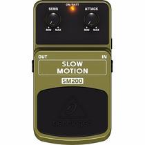 Pedal Slow Motion Behringer Sm200 Novo Original Nfe