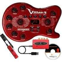 Pedaleira Behringer V-amp 3 Para Guitarra