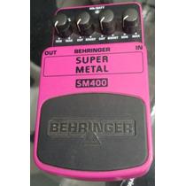 Pedal Behringer Sm400 Super Metal (studioarizy)