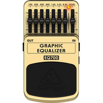 Pedal Graphic Equalizer Eq 700 Behringer