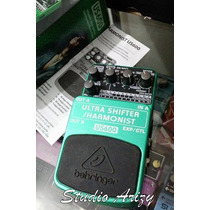 Pedal Behringer Ultra Shifter/harmonist Us600 Na Caixa