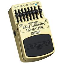 Beq700 Pedal Bass Equalizador Behringer Beq 700 P/ Baixo