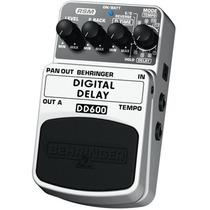 Dd600 Pedal Digital Stereo Delay Behringer Dd 600 Original