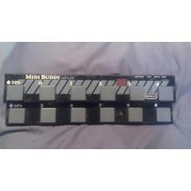 Rolls Mp128 Midibuddy Midi Pedal Board (n Fcb1010 Behringer)
