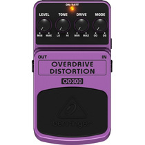 Pedal Behringer Overdrive/distortion Od 300