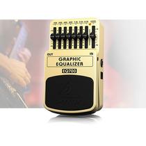 Pedal Guitarra Behringer Equalizador Gráfico Eq700 Promoção!