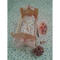 Berço Porta Biju / Lembrança Chá Bebê Maternidade Batizado