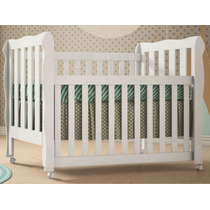Berço Mini Cama Lila 3 Em 1 Carolina Baby 100% Mdf Bebê