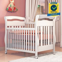 Berço Mini-cama Americano Certificado Inmetro Bambini Mdf