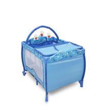 Berço Desmontável Baby Style Plus Azul Oceano