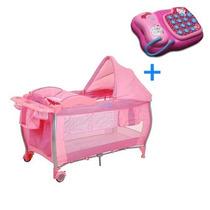 Berço Standart Pink Check Ixbe5059pkc13 - Burigotto