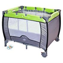 Berço Compacto Verde Baby Style (novo C/ Garantia)