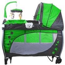 Berço Balanço Baby Style Verde