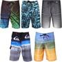 Kit Bermuda Shorts Tactel, Lote 50 Unidades Sai R$16,99 Cada