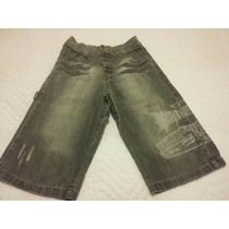 Bermuda Jeans Infantil Menino Hot Wheels Tamanho 6