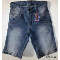 Bermudas Jeans Masculina - Tamanhos: 36 A 48