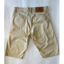 Bermudas Jeans Masculina Short Jeans Com Bolso Queimao De Es