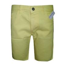 Bermuda Jeans Calvin Klein Masculina Bege Creme