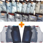 Kit 5 Bermudas + 5 Calças Jeans Atacado Lote Pronta Entrega