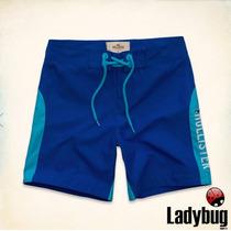 Bermuda Masculina Hollister (bluffs Beach Swim Shorts) Tam G