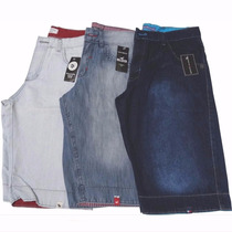 Kit 03 Bermudas Jeans Masculina Hollister Abercrombie, Tommy