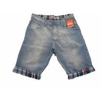 Bermuda Jeans Masculina De Marca Hollister, Polo, Ck