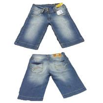 Bermuda Feminina Sawary Jeans Pronta Entrega Ref 235885