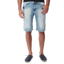 Bermuda Masculina Sawary Jeans Destroyed