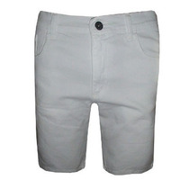 Bermuda Calvin Klein Jeans Masculina Branca
