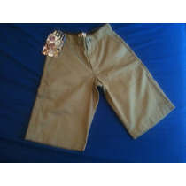 Bermuda Lost Chino Gringa Original 36-38br / 28usa