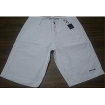 Bermuda Pierre Cardin Sarja Jeans Branca Nova Original 44br