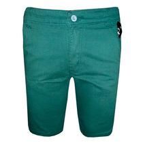 Bermuda Jeans Calvin Klein Verde Musgo Ck33