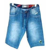 Bermuda Jeans Masculina Lost Mesclado