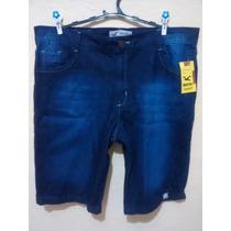 Bermuda Jeans Masculina Hollister - Grátis Creme Natura Ekos