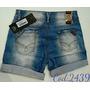 Bermuda Jeans Oppnus Feminina Lycra Confort Coleção 2016