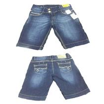 Bermuda Feminina Sawary Jeans Pronta Entrega Ref 235578