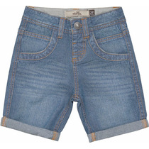 Bermuda Jeans Infantil Masculina Baby Clara