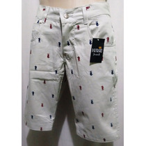Bermuda Masculina Patrão Jeans Shorts Masculino Promocao