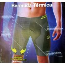 Bermuda Térmica Tecnologia Sem Costura, Corrida, Academia