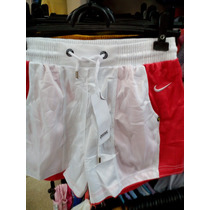 Kit 5 Bermudas Shorts Tactel Nike 100% Original P/ Academia