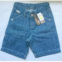 Bermuda Jeans E Sarja Infantil Para Meninos