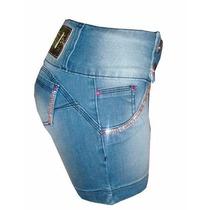 Bermuda Jeans Pit Bull Feminina Ptb 216