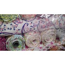 Tecido Cotton Modinha Estampado Blusas Bermudas Malha Macia