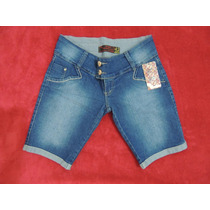 Bermuda Jeans Tamanho 42 E 44 Feminina