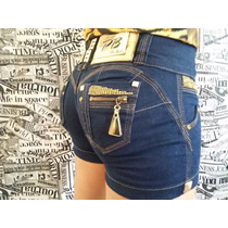 Pit Bull Short Saia Bermuda Jeans Original Pronta Entrega