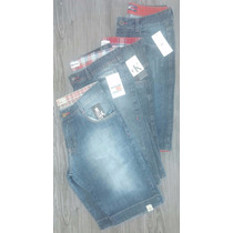 Lote 10 Bermuda Jeans Masculina Calvin Clein Hollister Tommy